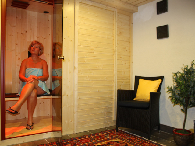 Our Physiotherm Infra-red cabin
